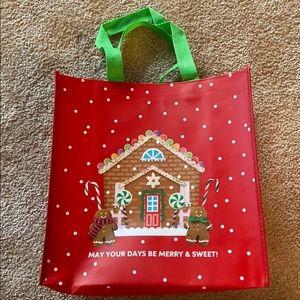 Hallmark Holiday Plastic Gift Tote Bag